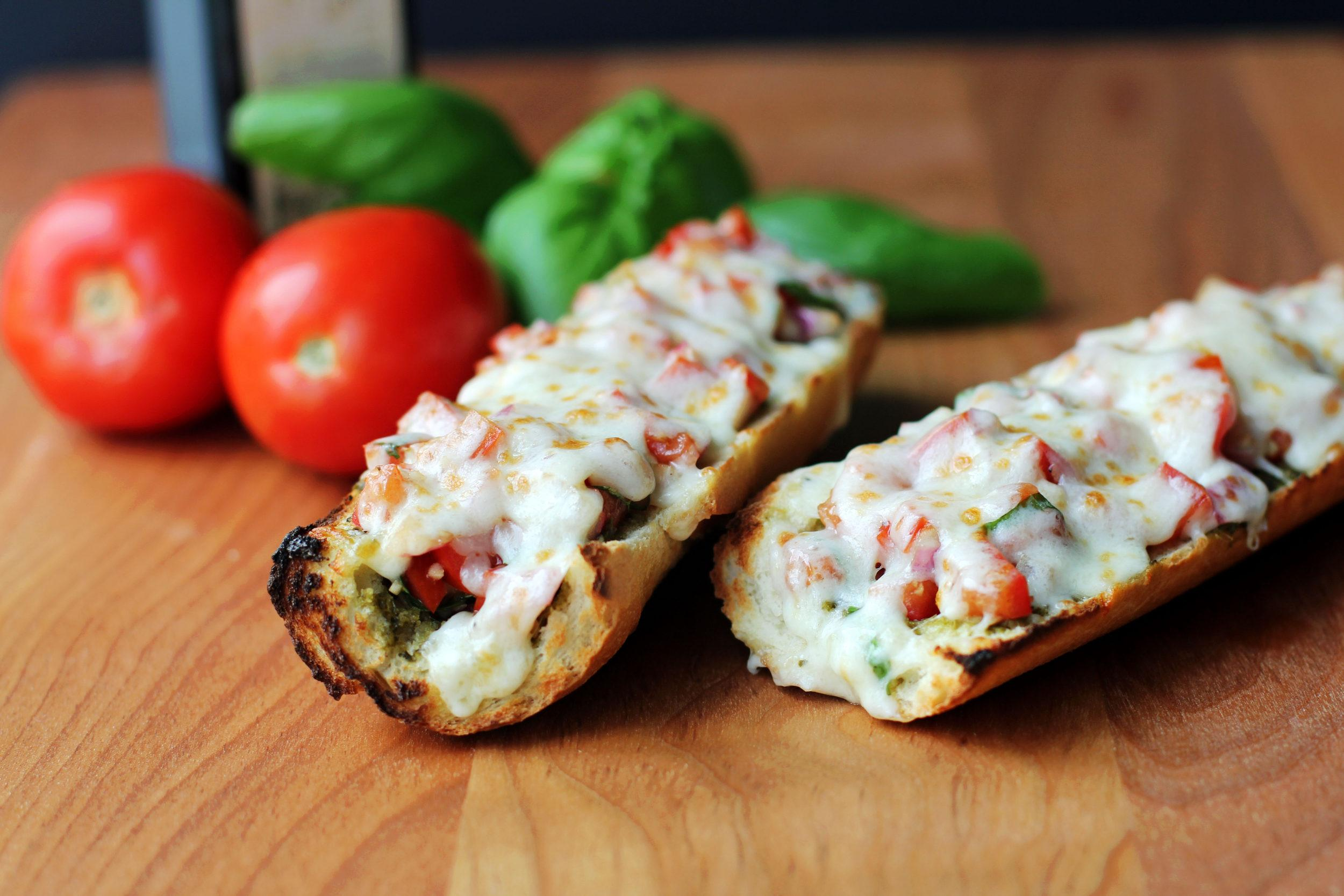Bruschetta French Bread Pizza