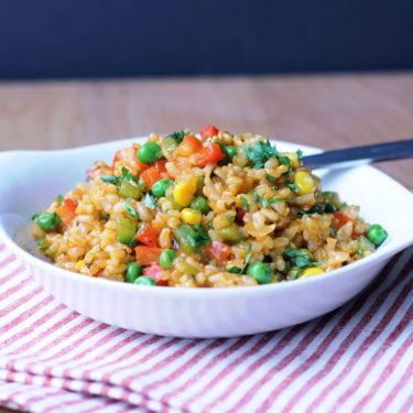 Jazzed Up Spanish Rice
