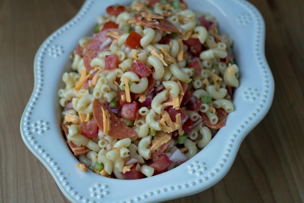 Macaroni Pepperoni Salad
