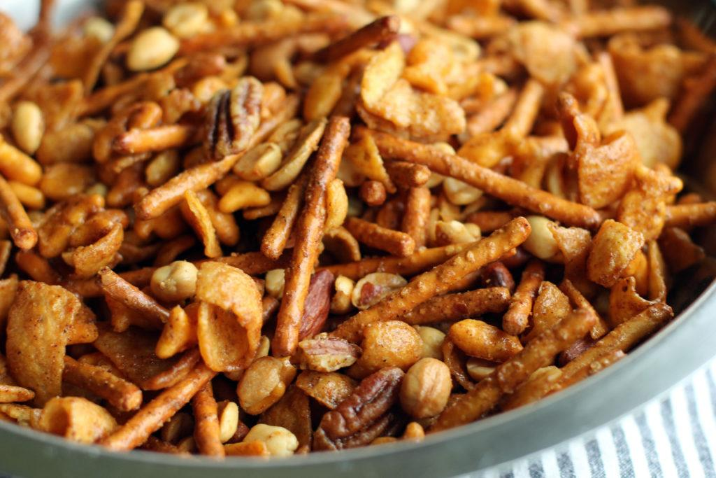 Chili Snack Mix