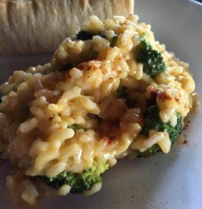 Broccoli Cheese Risotto
