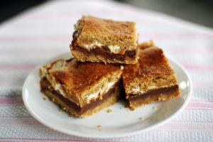 Peanut Butter S'mores Bars