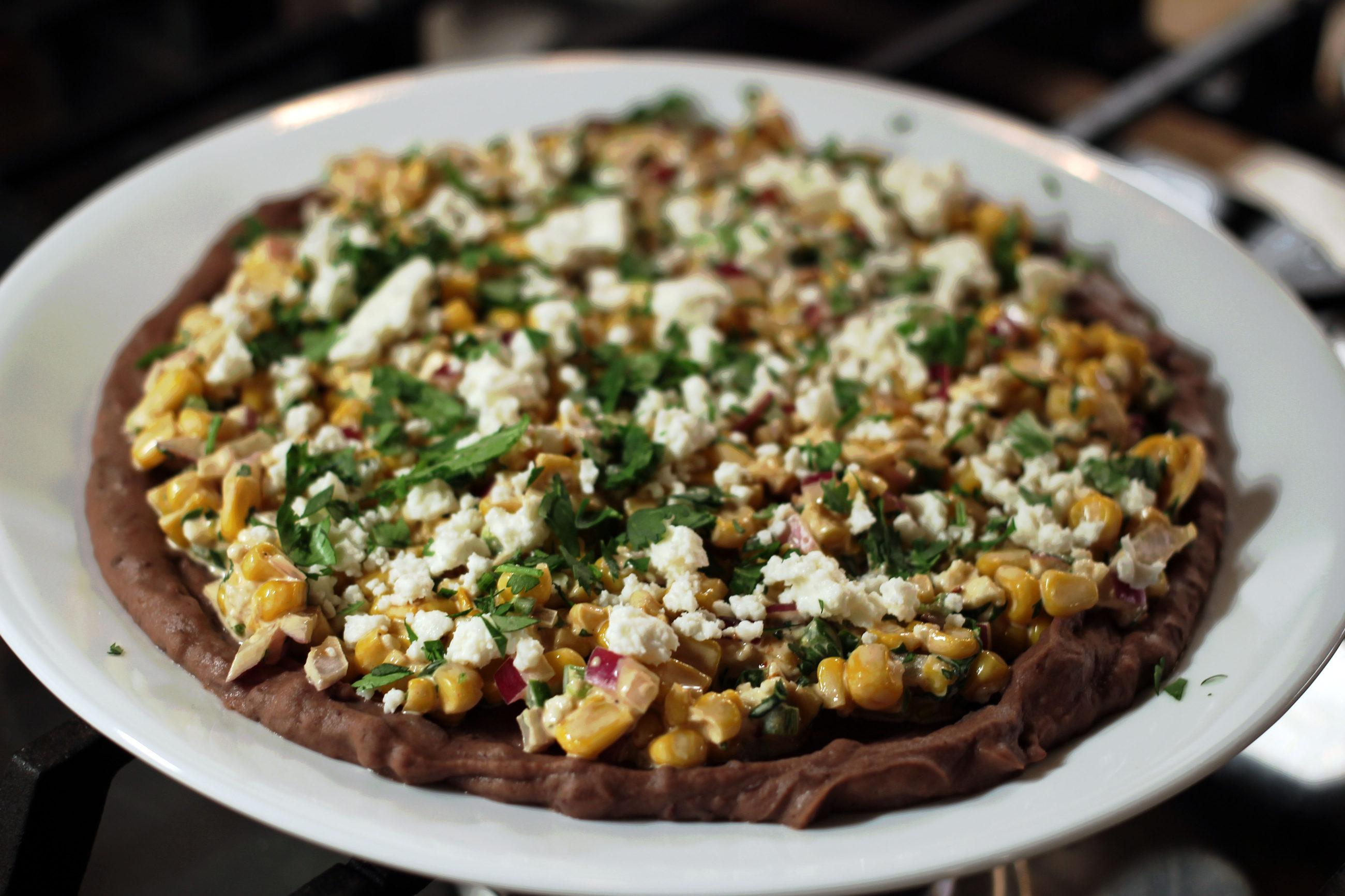 Mexican Street Corn Layer Dip