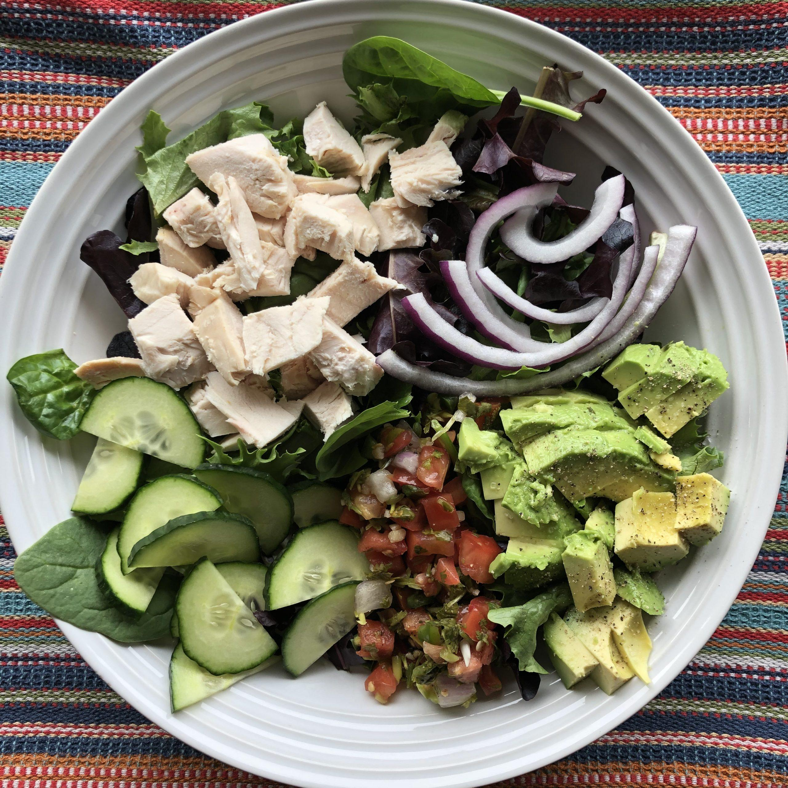 Southwest Rotisserie Chicken Salad
