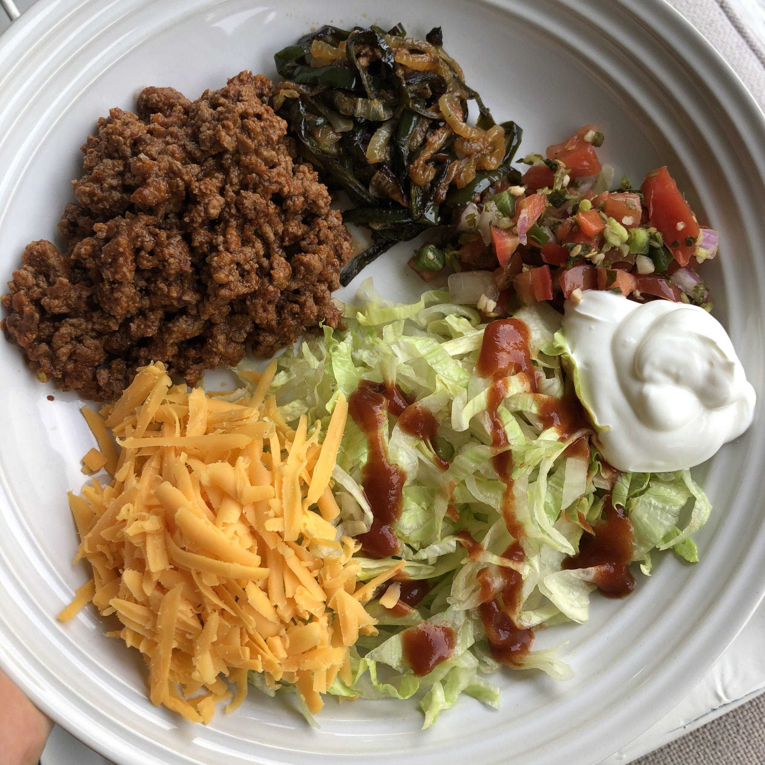 Ground Beef Taco Salads