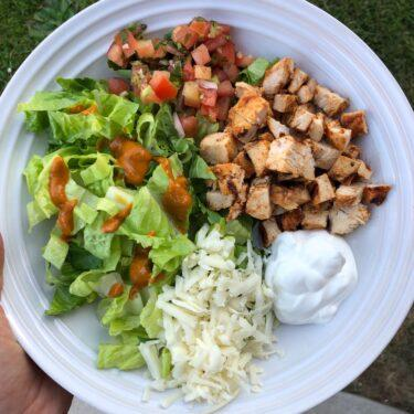 Copycat Chipotle Chicken Salad